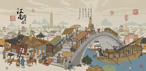 江南百景图仓库在哪里