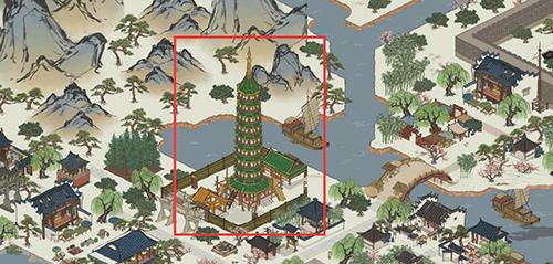 江南百景图琉璃宝塔图片