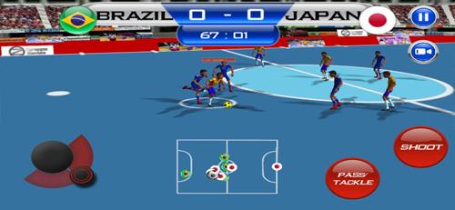 五人制足球游戏截图1