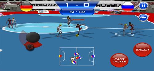 五人制足球游戏截图3