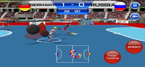 五人制足球游戏截图4