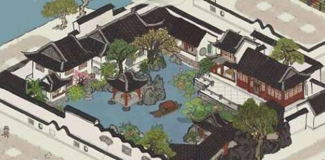 江南百景图餐馆几个