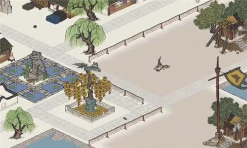 江南百景图雕像图片