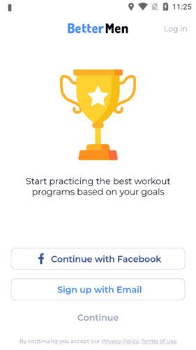 BetterMen健身规划器2