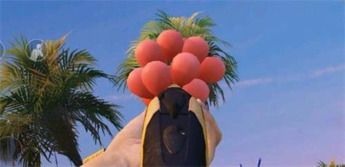 和平精英出生島電音盛典擊破氣球怎么過