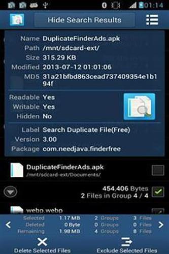 搜索重复文件app1