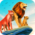 荒野動物獅子模擬