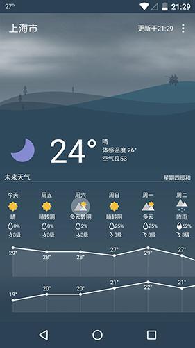 Holi天气app图片
