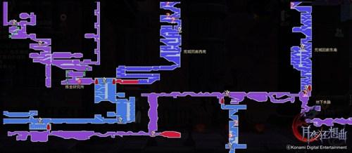 《月夜狂想曲》的地图模式