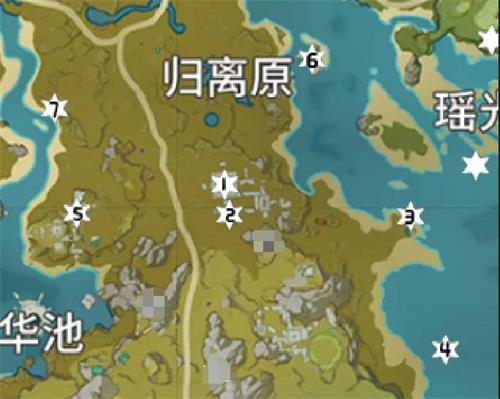 原神岩神瞳位置大全8