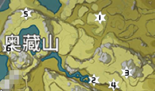 原神岩神瞳位置大全9