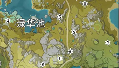 原神岩神瞳位置大全15