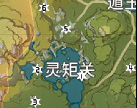 原神岩神瞳位置大全19