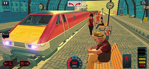 现代火车司机模拟器截图1