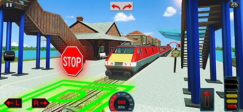 现代火车司机模拟器截图5