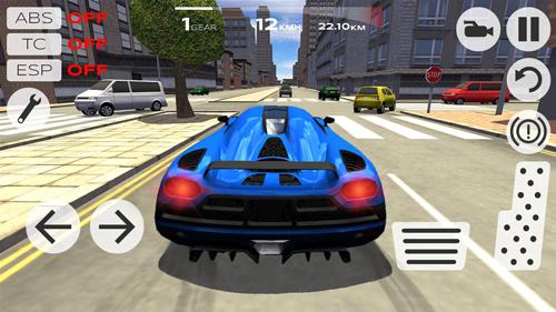 极限汽车模拟驾驶截图1