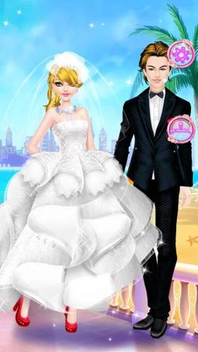 芭比婚礼美妆截图1