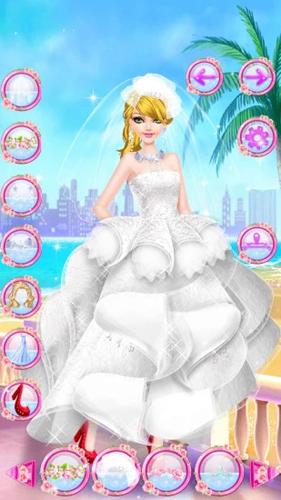 芭比婚礼美妆截图2