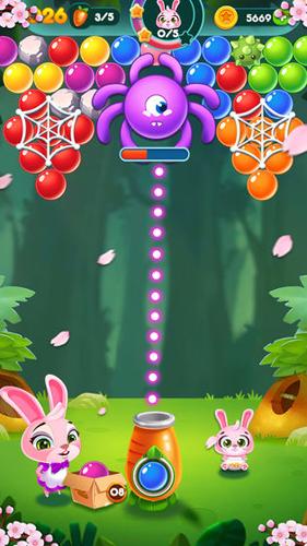 兔子泡泡龙:动物森林截图2