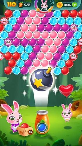 兔子泡泡龙:动物森林截图3