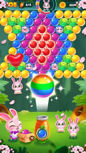 兔子泡泡龙:动物森林截图5