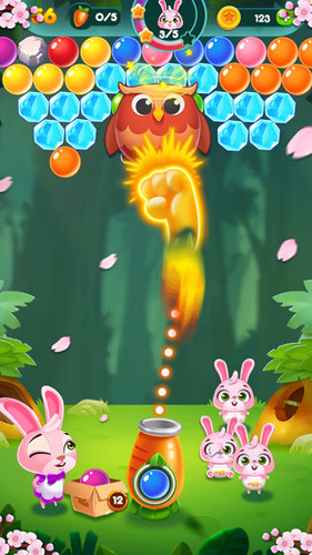 兔子泡泡龙:动物森林截图6