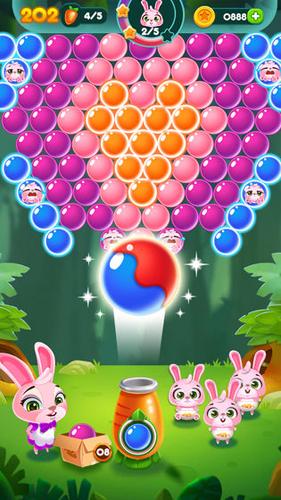 兔子泡泡龙:动物森林截图7