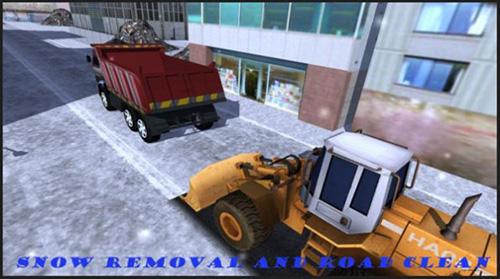 除雪装载机模拟器截图2