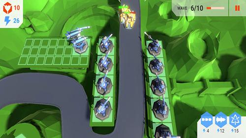 太空塔防游戏