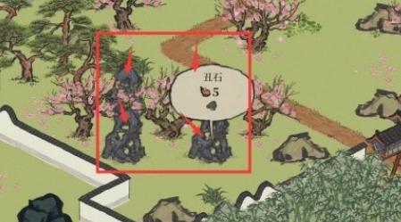 江南百景图四丑在哪 四丑位置介绍