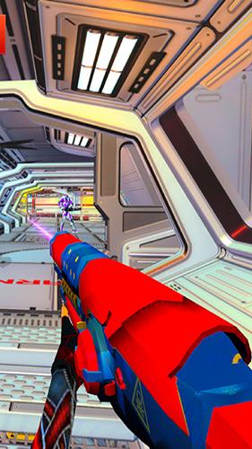 機器人射擊戰爭3D特色