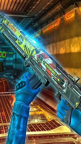 機器人射擊戰爭3D截圖2