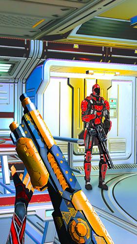 機器人射擊戰爭3D截圖3