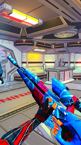 機器人射擊戰爭3D截圖4