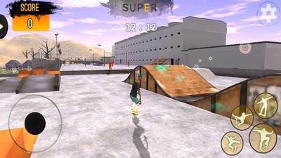 滑板模拟器截图3