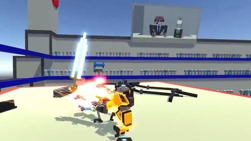 机器人大乱斗中文版截图2