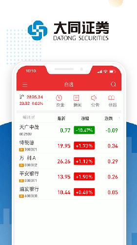 大同证券app截图1