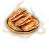 米餅夾烤肉