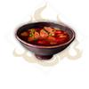 香辣紅韶肉湯