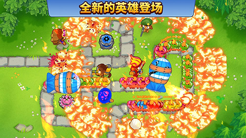 猴子塔防6中文版截图2