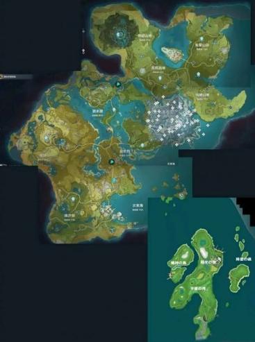 原神1.4稻妻城地图在哪里2
