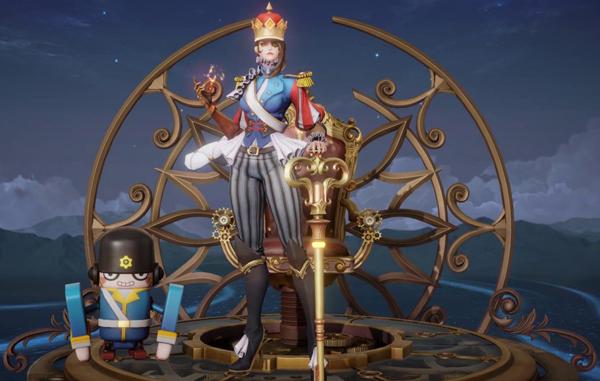 王者荣耀米莱狄胡桃异想国建模