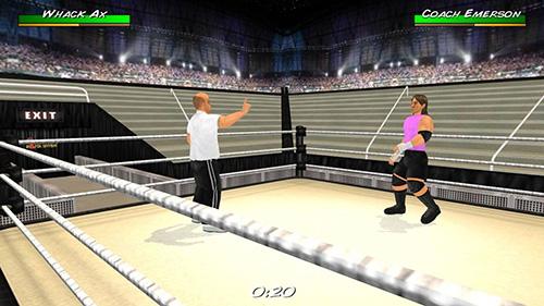 摔跤革命3D截图3
