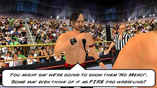 摔跤革命3D截图2