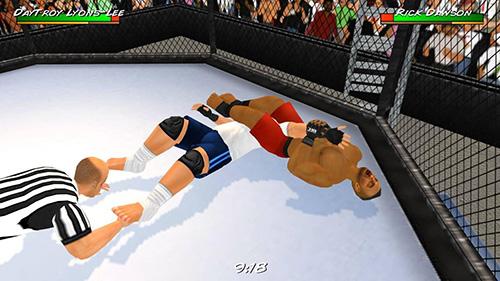 摔跤革命3D截图5