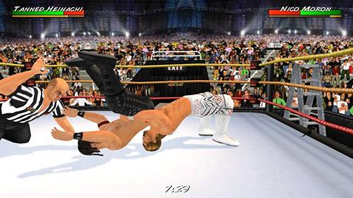 摔跤革命3D截图4