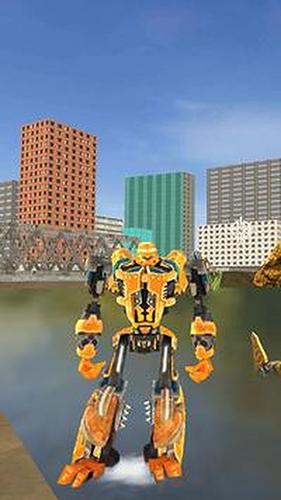 机器人鲨鱼3无限金币钻石版截图2