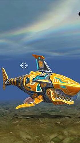 机器人鲨鱼3无限金币钻石版