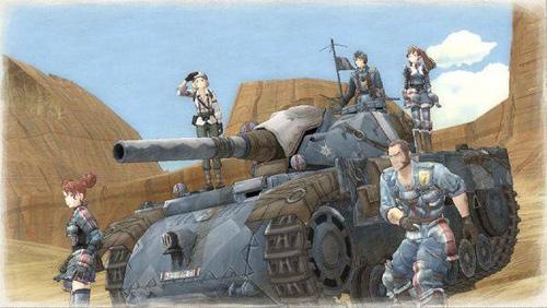 《战场女武神》的画风和战斗系统都极具特色