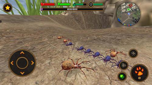 蜘蛛模拟器截图4